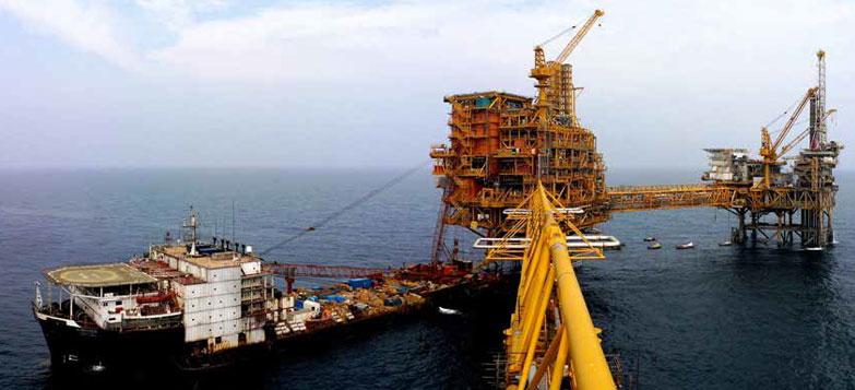 Offshore hook up activities