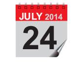 24 July 2014