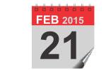 21 February 2015